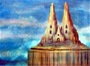 The Cathedral By Alberto Thirion 2005 Category: Painting Technique: Oil.