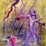 Christus und der Teufel Werk von Alberto Thirion Kategorie: Maltechnik: Öl. Alberto Thirion Garcia