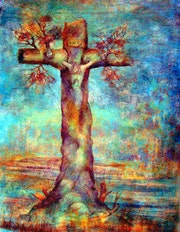 The Nature of the Cross By Alberto Thirion 2005 Category: Painting.