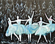 The Ballet Dancers. Michela Curtis