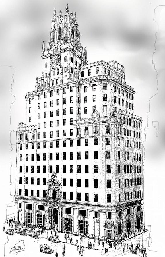 Torre Telefónica. Fragardel Francisco Garcia