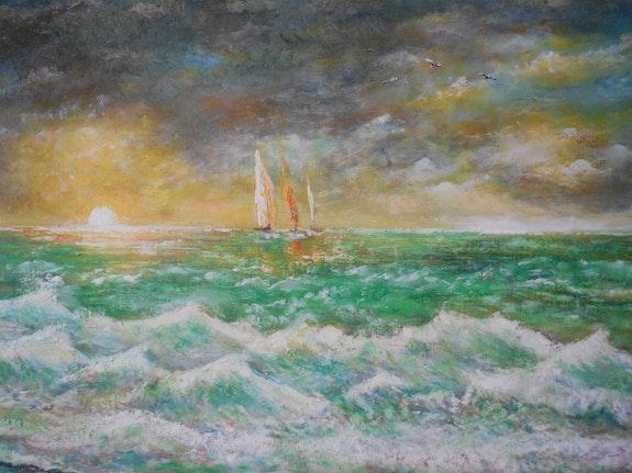 Orage sur l'Océan depuis mon observatoire sur La Côte Sauvage.. Patrick Nevoso Patrick Nevoso