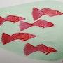Red fish. Annavladigogoli