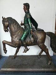 Escultura Paso Triunfal del Libertador. Juan Carlos Herazo Villalobos