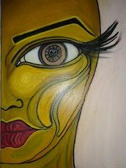 Half Face-Portrait. Elfa