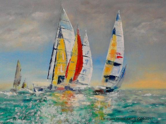 La régate entre La Rochelle et Oléron. Patrick Nevoso Patrick Nevoso