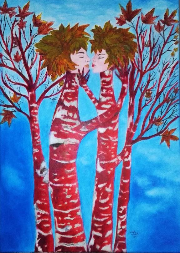L'amour des arbres. Michèle Truchot Mimi