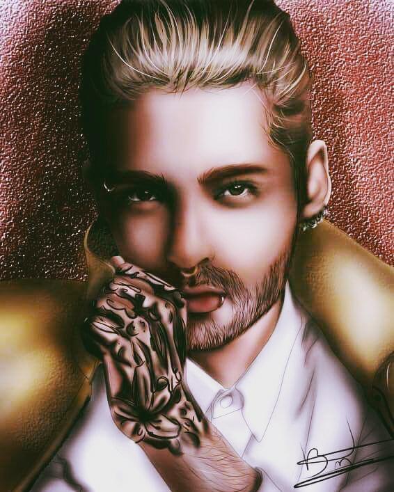 Portrait Bill Kaulitz. K-Draw K-Draw Bre