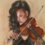 La violoniste. Any. C