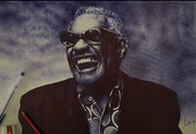 Portrait de Ray Charles..