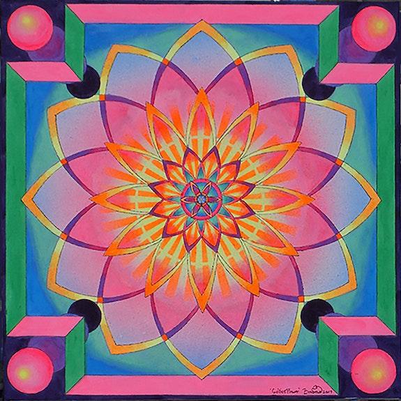 Golden flower. Brahma Templeman Brahma Templeman