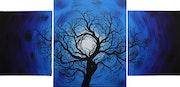 Tríptico moderno : Noche de árbol.. Jonathan Pradillon