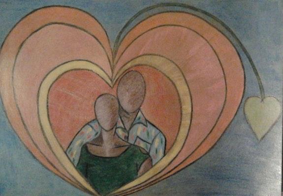Les amoureux; humeur amoureuse. Evelyne Patricia Lokrou