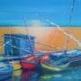 D'après «barques languedociennes». Patrick Nevoso