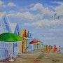 La baie de somme -Cayeux sur mer » les planches». Alain Dervillez