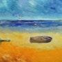 Barques sur le sable. Pat