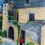Village medieval. Pat