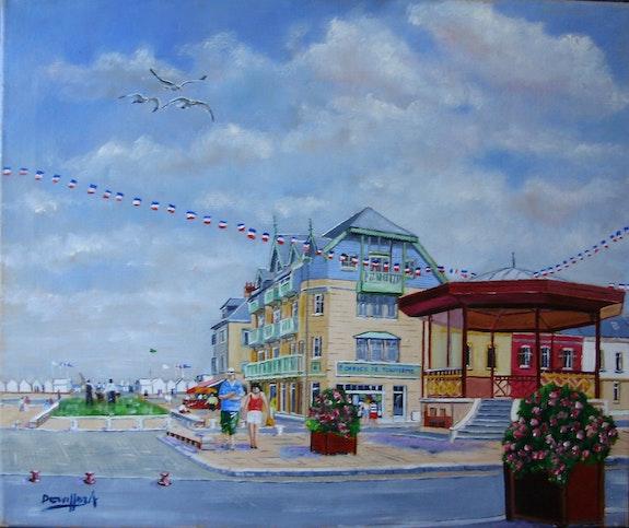 Cayeux sur mer » le kiosque». Dervillez Alain Alain Dervillez