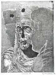 Venezia 18. , Die Tetrarchen an der Markuskirche (1986). Hajo Horstmann