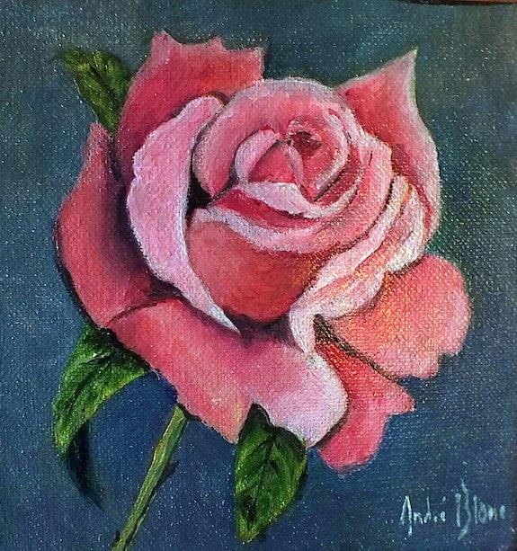 La rose. André Blanc Andre Blanc
