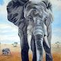 Elefant - Elephant - Éléphant. Micha Guerin