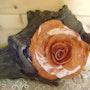 Sculpture «Rosa2». Zaz
