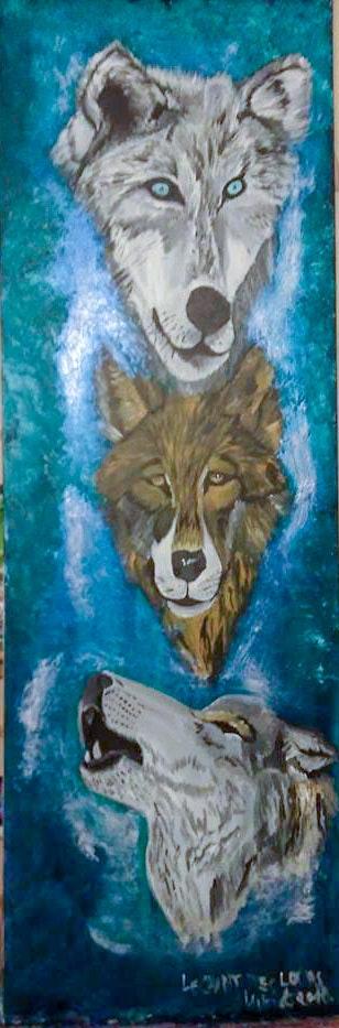 Le chant des loups. Mireille Vast Mireille Vast