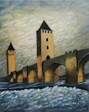 Le Pont Valentré à Cahors.