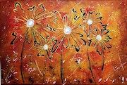 «Doodle floral».