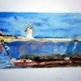 La mouette dans la barque. Yokozaza