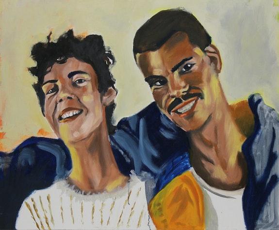 The couple. Juan Carranza Juan Carranza