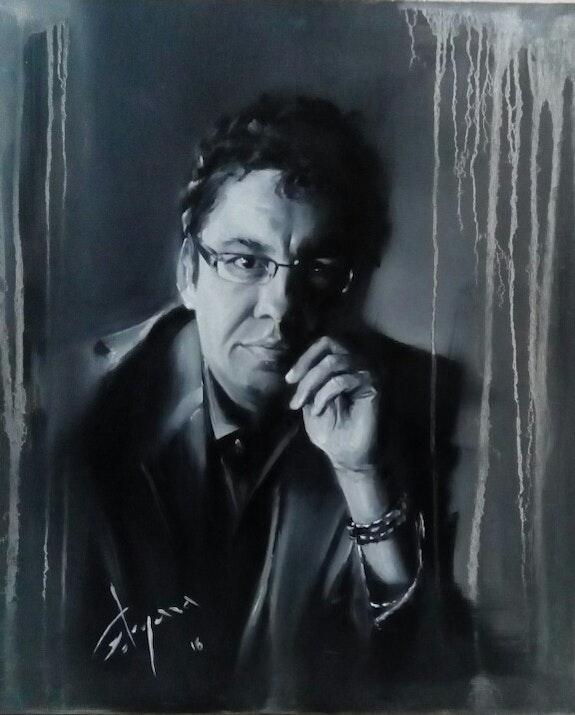 Portrait. Gergana Vladova Gergana Vladova