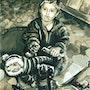 Kleiner Frechdachs - Little rascal - Petit fripon. Micha Guerin