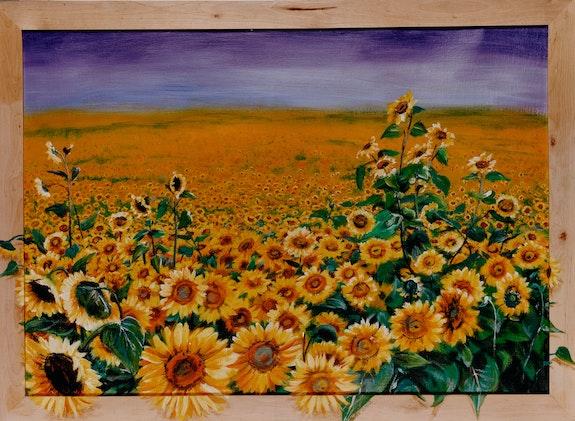 Sonnenblumen - Sun flowers - Tournesols. Micha Guerin Micha Guerin