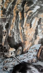Les gorges de Samaria. Magdeleine Parisot