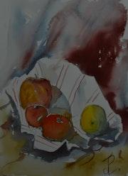 Le torchon au fruits. Jean-Pierre Lemoine