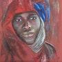 L homme en rouge. Nathalie Mailhes