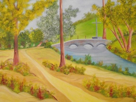 Le pont de Saint Thomas. Gerard Flohic Gerard Flohic