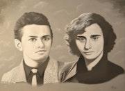 Portrait des parents de francois regis.