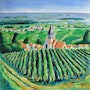 Paysage Champenois. Jean-Claude Robin