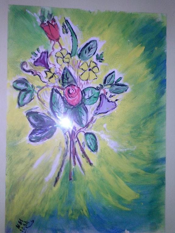 Fleurs. Moi Nadine Moreno