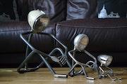 Mr lampe pensif en 3 tailles..