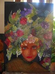 Femme fleur. Patricia Juteau