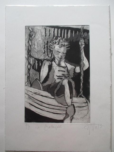 La balançoire. Catherine Hémon Cati