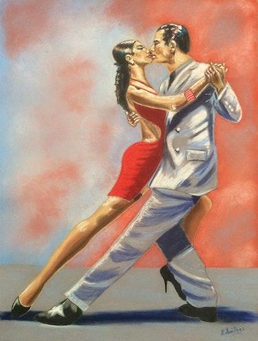 Le tango. Nathalie Mailhes