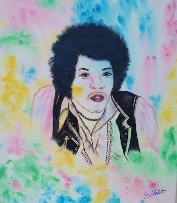 Jimi Hendrix.. Ghislaine Phelut-Sanchez Ghislaine Phelut