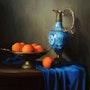 Oranges and porcelain. Jose Manuel Roel Morales