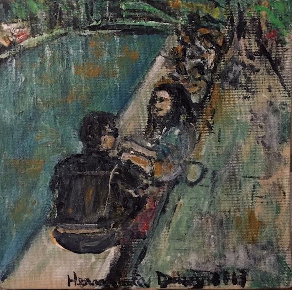 Canal Saint Martin. Herminia Duruy Herminia Duruy