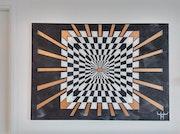 Damier illusion. Maxgallerys