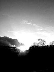 Le soleil sur terre.